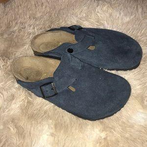 Birkenstock clogs - navy blue